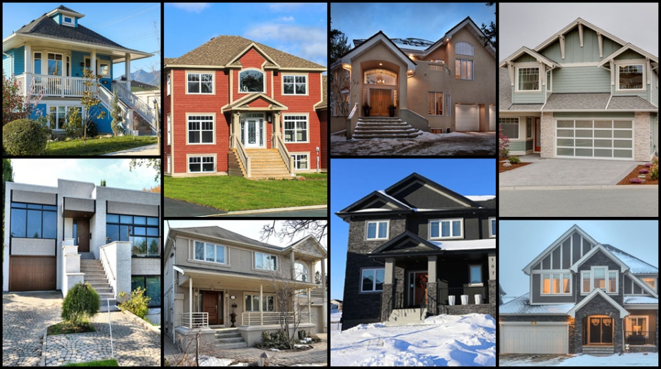 Homes of the month million dollar edition for Home builders in canada
