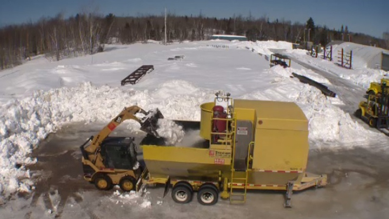 A Halifax company says its industrial snow plowers could do a better job dealing with winters like this compared to the city's current approach.