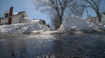 Melting piles of snow turns into flood problem for N.S.