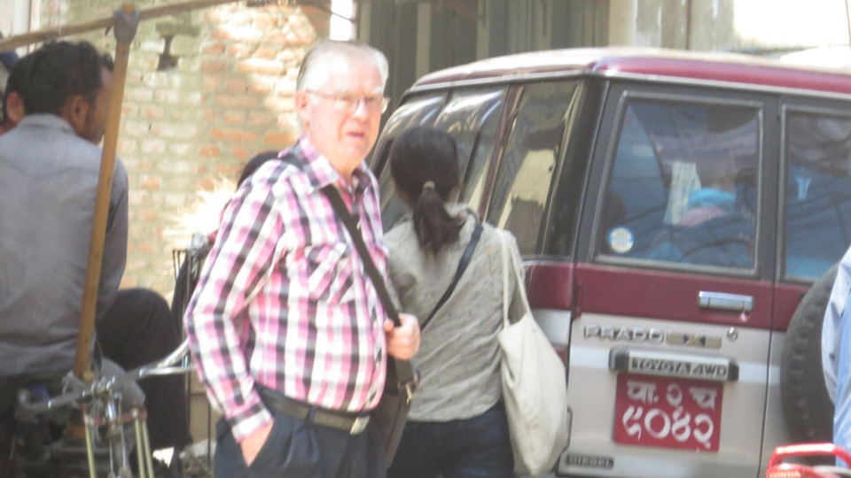 CTV Atlantic has secured exclusive photographs, taken in secret, of Ernest Fenwick MacIntosh in Nepal before his arrest in December 2014. (CTV Atlantic)