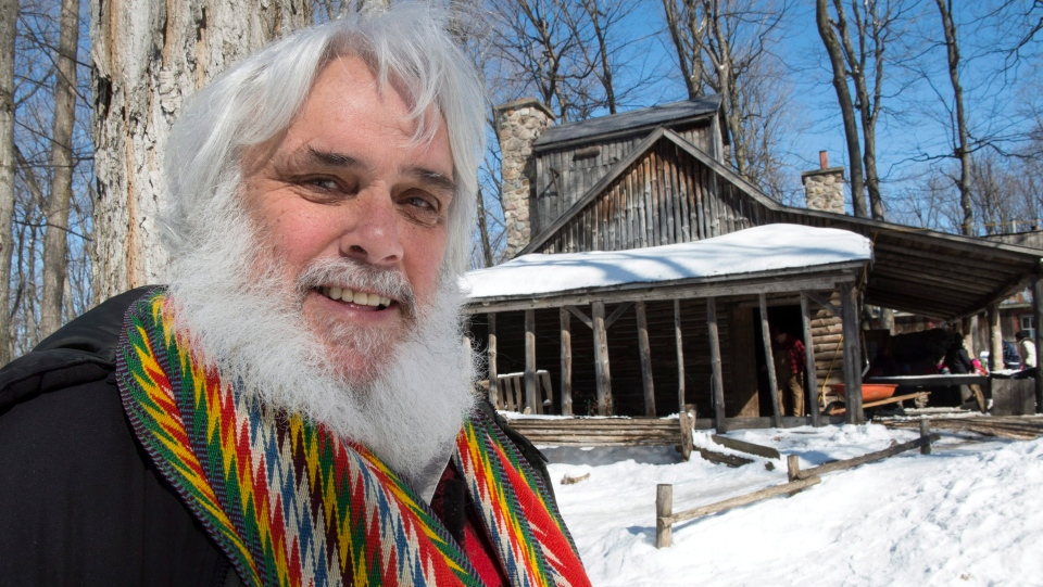 Pierre Faucher, president of Sucrerie de la Montagne, is seen at his sugar shack Tuesday, March 24, 2015 in Rigaud, Que. (THE CANADIAN PRESS/Paul Chiasson)