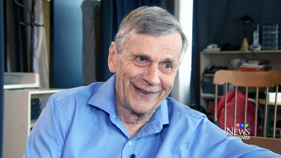 Actor William B. Davis, who portrayed The Smoking Man in the 'The X-Files,' speaks to CTV Vancouver Thursday, March 26, 2015.