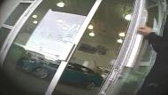 An APA mystery shopper enters a Calgary new car dealership.