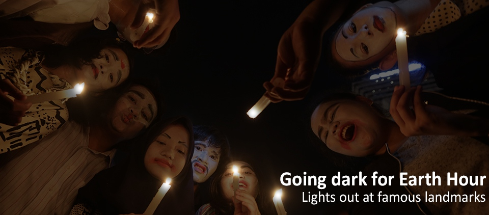 Going dark for Earth Hour: Lights out at famous landmarks