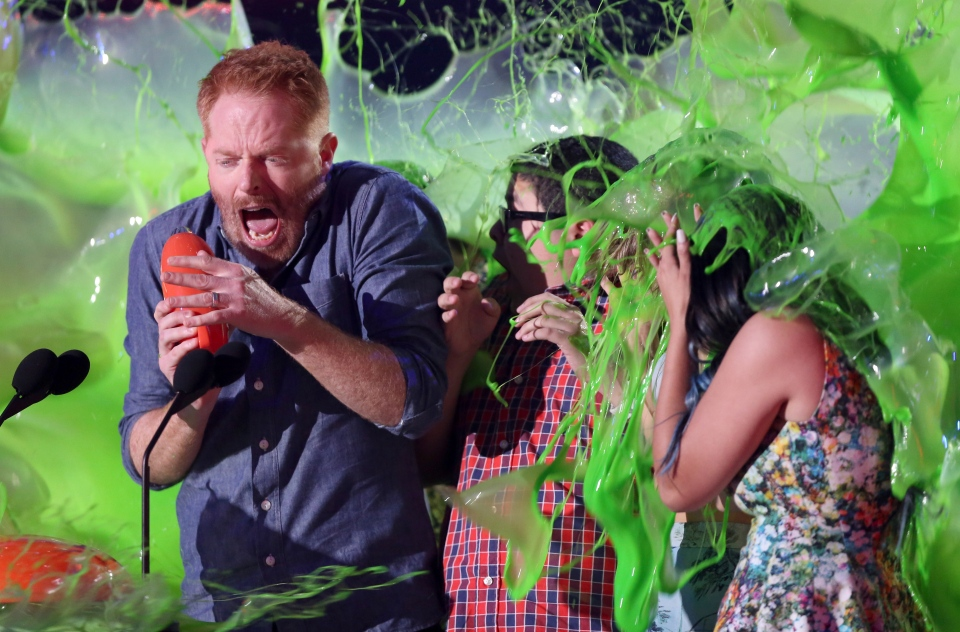 Modern Family cast slimed at Kids Choice Awards