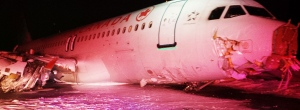Air Canada flight slides off runway in Halifax