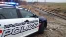 A WRPS vehicle is seen parked near some train tracks in this file photo.