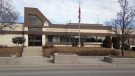 Woodstock Police headquarters are pictured on Friday, March 20, 2015. (Alexandra Pinto / CTV Kitchener)