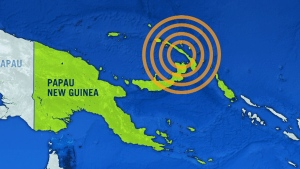 CTV News Channel: Earthquake strikes in Pacific