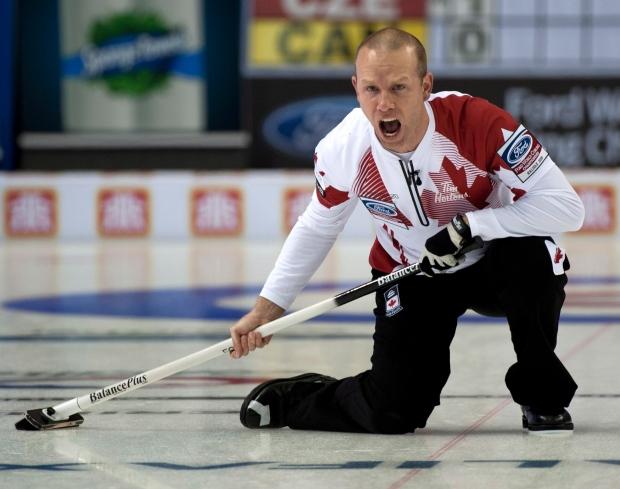 Canada curling skip Pat Simmons