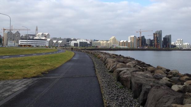 Iceland's capital city, Reykjavik