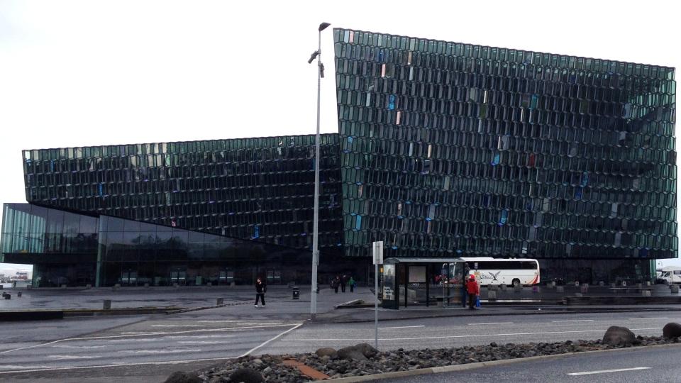 Harpa: The Harpa Conference Centre is pictured in Reykjavik, Iceland on Sept. 15, 2014. (Josh Elliott / CTV News)