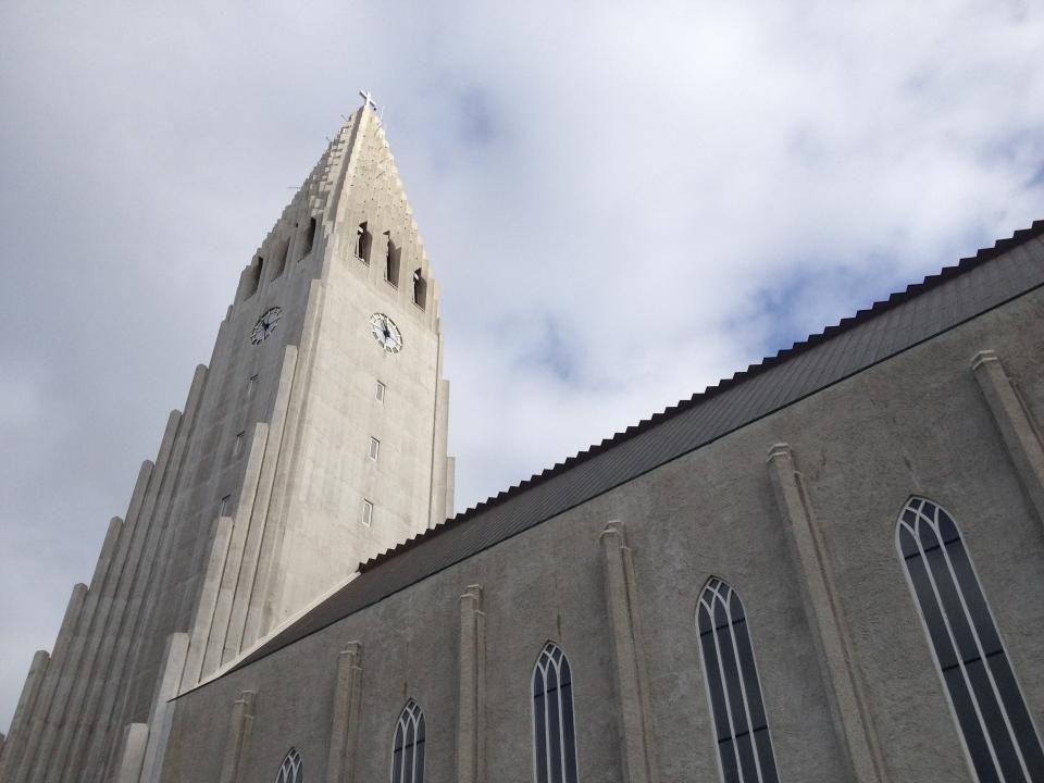 Hallgrimskirkja: Reykjavik's Hallgrímskirkja Lutheran church is shown in Iceland on Sept. 15, 2014. (Josh Elliott / CTV News)