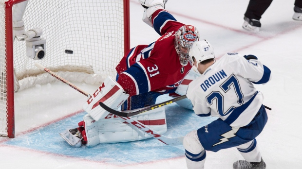 Canadiens acquire Drouin from Lightning for Sergachev