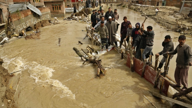 Kashmir ready for more flooding with rain expected