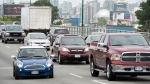 Traffic in Vancouver on Wednesday, June 4, 2014. (THE CANADIAN PRESS / Jonathan Hayward)