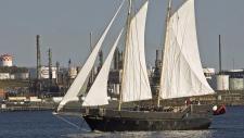 Liana's Ransom, an 85-foot schooner