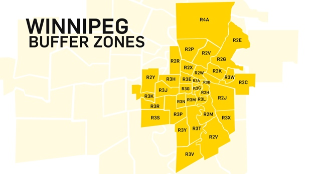 winnipeg postal code map