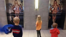 Victoria's Secret ad Saskatoon