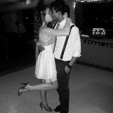 Solomon Chau with fiancee Jennifer Carter