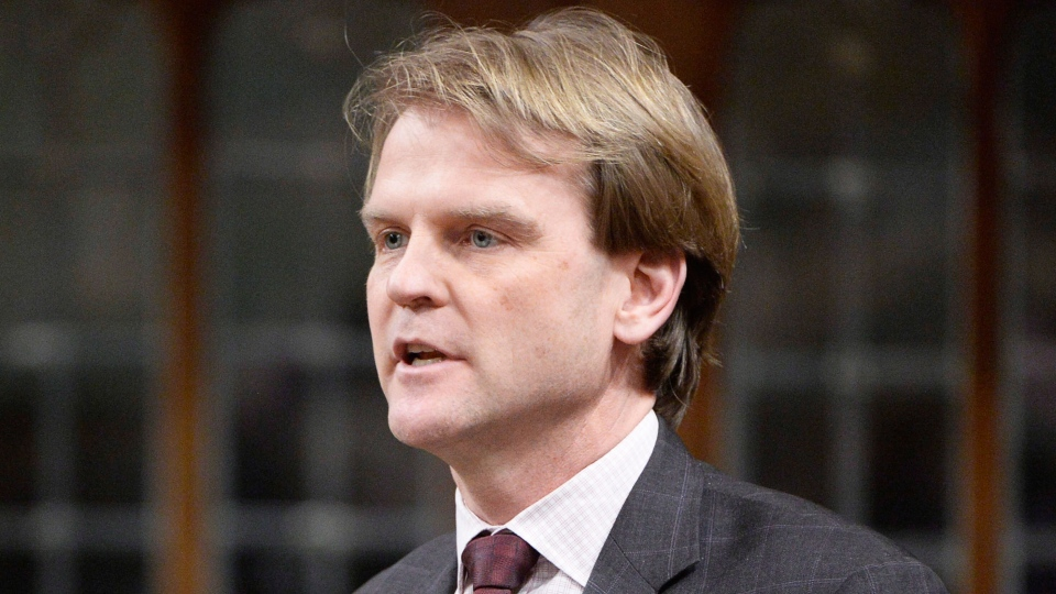 Immigration Minister Chris Alexander answers a question during question period in the House of Commons in Ottawa on Tuesday, March 31, 2015. (Adrian Wyld / THE CANADIAN PRESS)