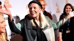 Joni Mitchell arrives at the 2015 Clive Davis Pre-Grammy Gala at the Beverly Hilton Hotel in Beverly Hills, Calif. on Feb. 7, 2015. (John Shearer / Invision)