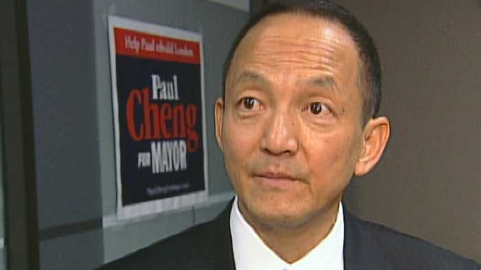 Paul Cheng is seen here in London, Ont, in this file photo.