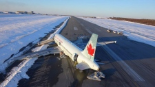 Air Canada crash in Halifax