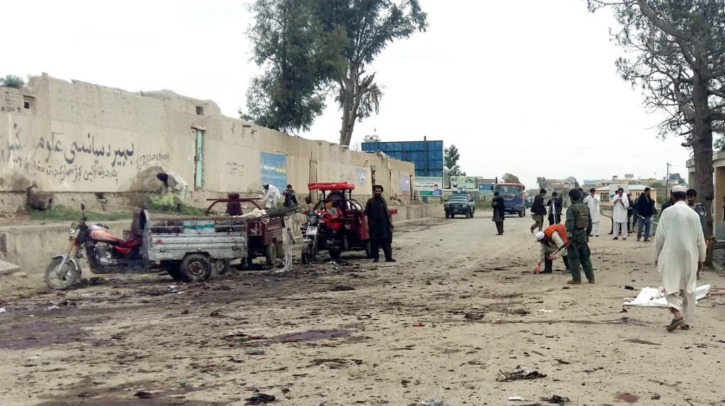 Suicide bombing kills 16 in Afghanistan