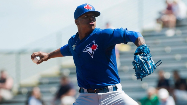 243c5a71a74 Blue Jays  cautiously optimistic  with progress of injured Marcus Stroman