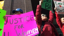 Protesters rally for Cindy Gladue