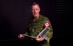 Commander Canadian Joint Operations Command Lieutenant-General Jonathan Vance arrives for a technical briefing Monday January 19, 2015 in Ottawa. THE CANADIAN PRESS/Adrian Wyld
