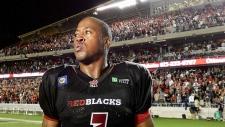 Ottawa Redblacks QB Henry Burris
