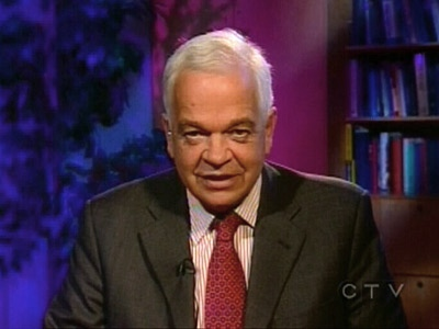 Liberal finance critic Jogn McCallum appears on CTV's Question Period on Sunday, Oct. 19, 2008.