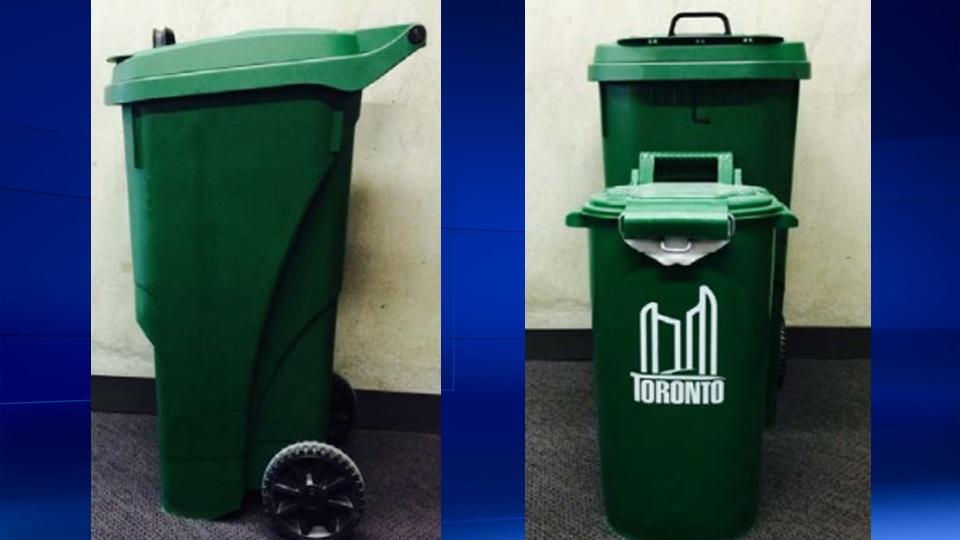 New green bins in Toronto
