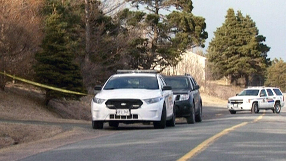 Police are investigating after a man was killed in the town of Mitchells Brook, N.L. on Sunday, March 5, 2015.