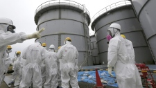FUkushima Dai-ichi power plant in Japan