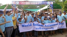 World Autism Awareness Day in Myanmar