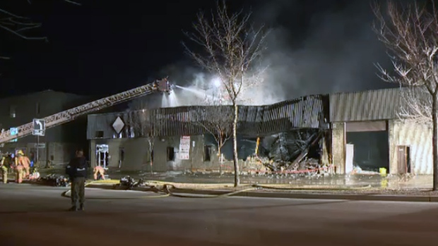 Fire destroys commercial building on Henri Bourassa | CTV ...