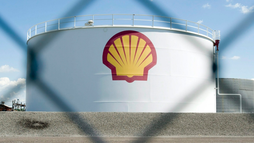 A Shell Oil depot in Montreal