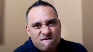 Comedian Russell Peters in Toronto on June 13, 2012. (THE CANADIAN PRESS / Chris Young)