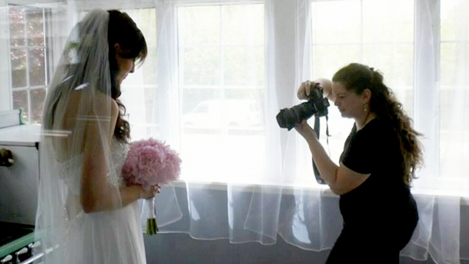 Ten clients of wedding photographer Ariane Anderson, right, claim the terms of their contract were not met.