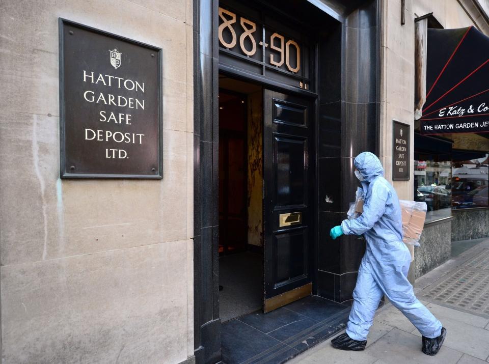 Hatton Garden Safe Deposit robbery