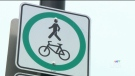 CTV Montreal: Cyclists want safer paths