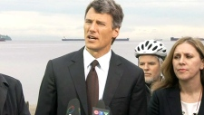 Vancouver Mayor Gregor Robertson on the spill