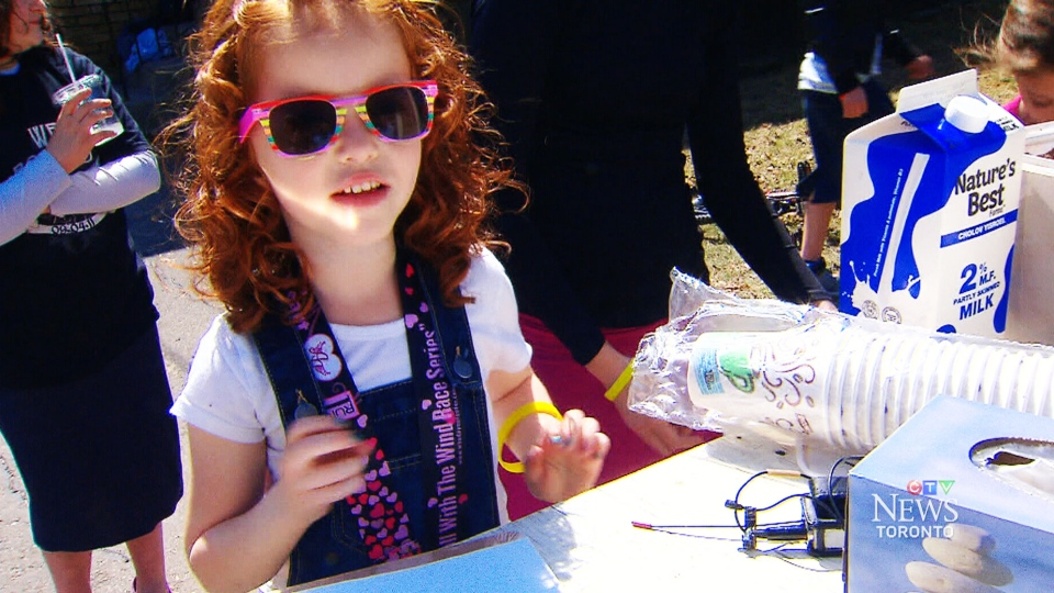 Na-Ama Uzan girl has raised thousands of dollars for the Foundation for Angelman Syndrome Therapeutics.