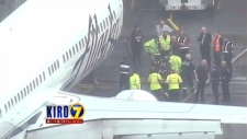 Airport worker falls asleep in cargo hold