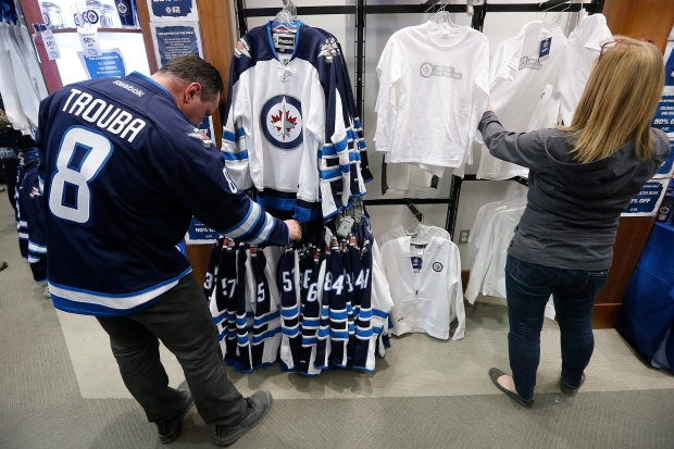 huge discount c8e18 02f09 Winnipeg Jets playoff tickets sell out in less than 5 ...
