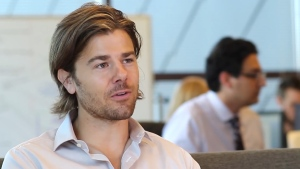 Gravity Payments CEO Dan Price is taking a pay cut to give every employee at his company a raise. (Entrepreneur / YouTube)