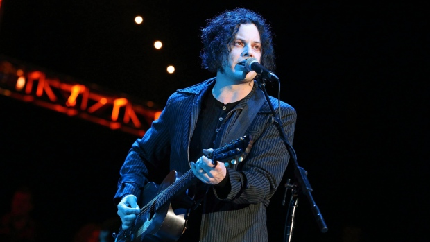 Jack White performs in Mountain View, Calif., on Oct. 20, 2012. (Barry Brecheisen/Invision)